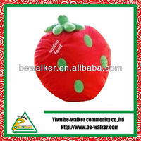 Cute Soft Plush Red Strawberry Toy For Girl