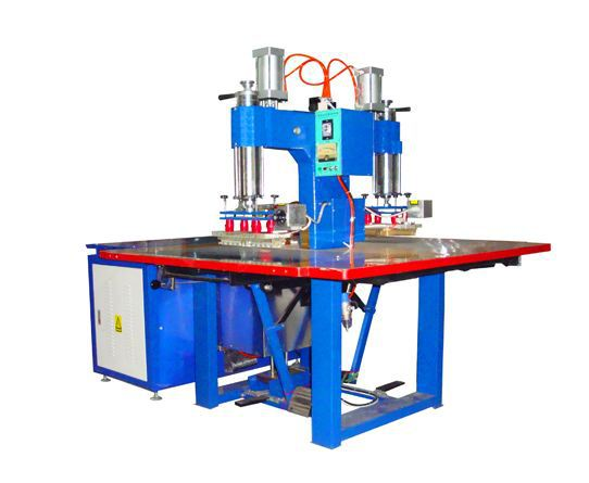 welding machine for PVC window frames used