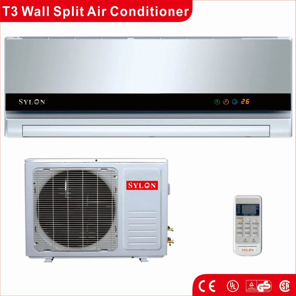 cooling and heating wall split airconditioner factory