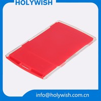 ECO-Friendly custom hard plastic pp red card holder