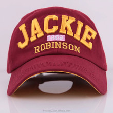 3d embroidery custom snap back baseball cap for sports activity