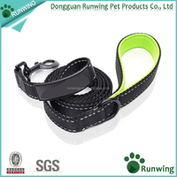 premium wholesale custom print logo nylon dog leash