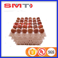 high quality SMT PET/PP different design plastic egg tray for many eggs