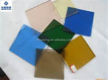 High quality tinted tempered glass Dalian factory offer
