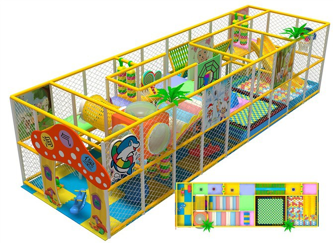 3~10years old kids entertainment center and good kida playground Investment project plan
