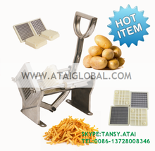SS Stainless Steel Manual Potato Chips Cutter easy chip cutter