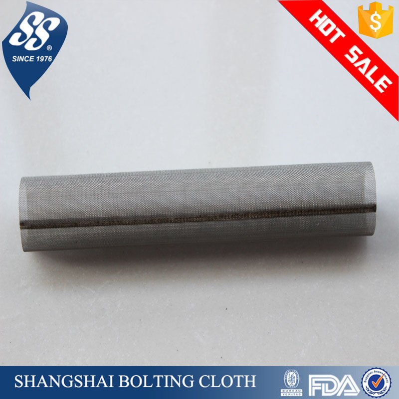 metal stainless steel woven wire mesh for filter tube/pipe/cylinder