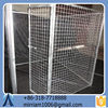 2015 Durable Manufacturer wholesale welded wire mesh Galvanized Welded Dog Cages and Chain Link Dog Cages