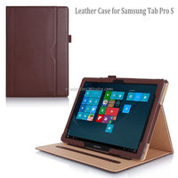 Newest Multi-View Stand PU Leather Folio Case for Samsung Tab Pro S