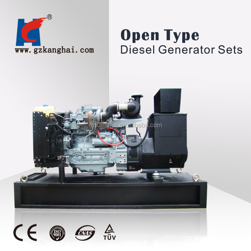 50hz 6 cylinder turbocharged generator with deutz diesel engine bf6m for boat use