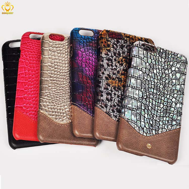 Crocodile Skin Patterns Leather Case for iPhone 5 5s 6 6s 7 custom phone case cover