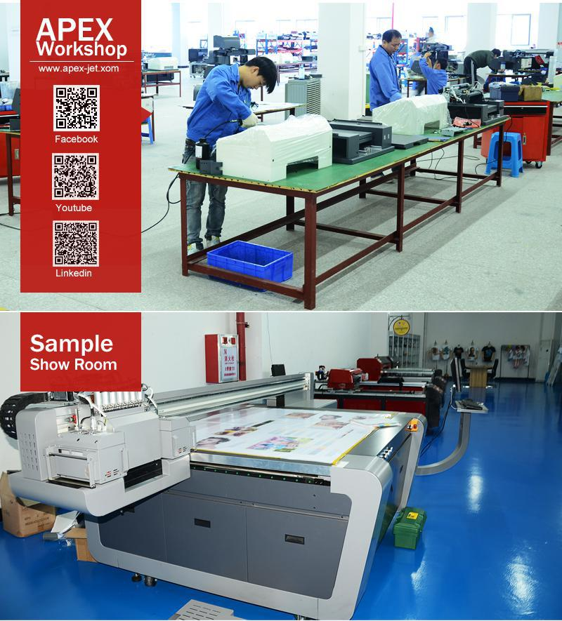 Apex Large Format A1 UV Led Digital Flatbed Printer
