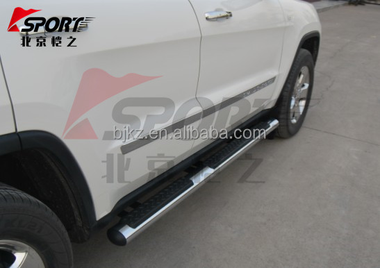 Chrome Side step for jeep Grand Cherokee side step for car