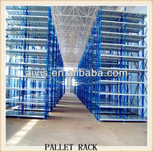 Heavy duty colorful metal warehouse pallet rack