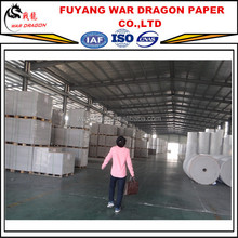 WAR DRAGON Paper plate raw material 230gsm grade a duplex board grey back