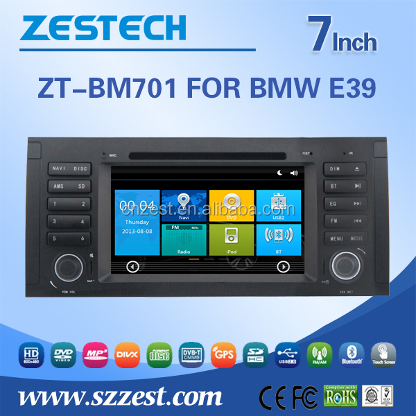 NEW WIN CE 6.0 system car video <strong>player</strong> for BMW e39 with OBD2 DVD GPS 3G digital TV function
