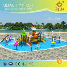 Baihe top quality water park equipment manufacture