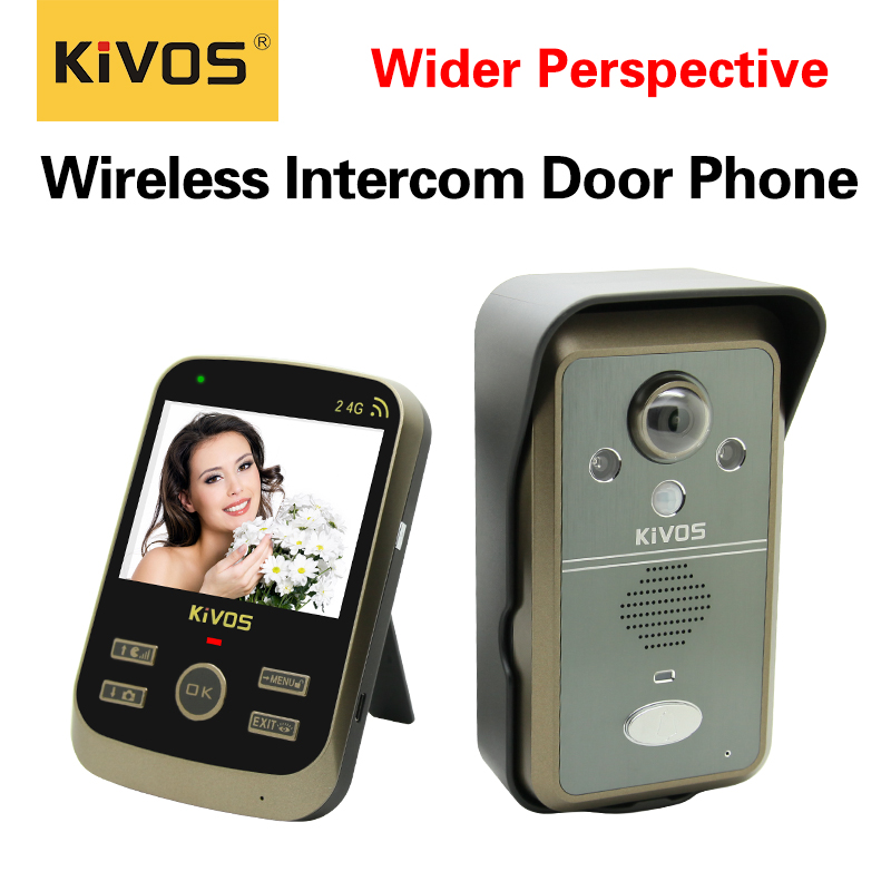 Digital Photo shooting long range wireless video intercom