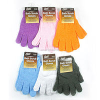 High quality nylon rubbing gloves Take a shower back rubs gloves Thickening bath brush.