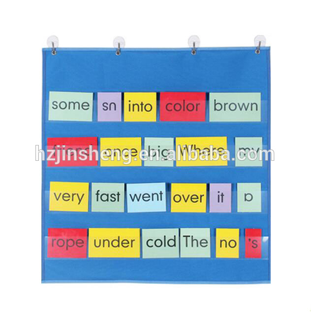 classroom wall storage pocket charts