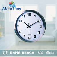 fuzhou home decor quartz parts radio controlled clock movement wall clock
