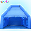 blue customized A frame inflatable shelter garage tent