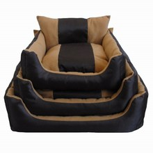 Wholesale New Design Plush Pet Products Short Velvet Luxury Dog Bed