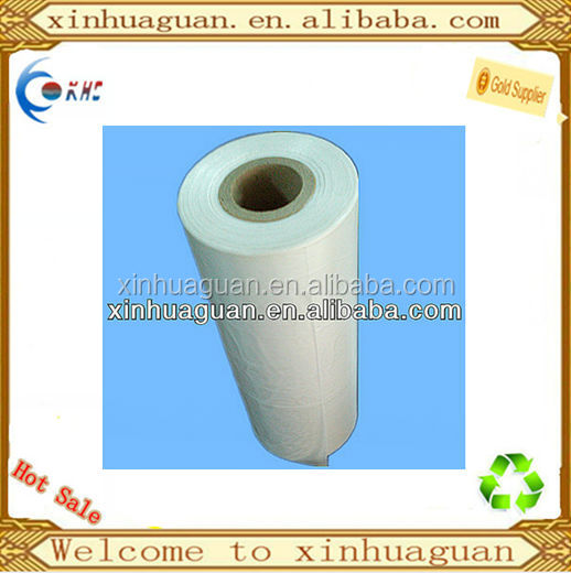 HDPE transparent plastic flat roll bag widely use in daily life