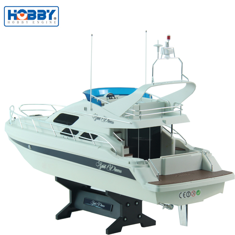 Professional 2.4GHz RTR Plastic RC Fishing Boats Digital Proportional Yachat for Sale