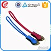 Clothes accessory OEM double ended zipper pull