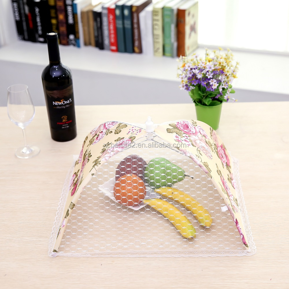 nylon kitchenware food cover N97 Multicolor and utility dome food cover