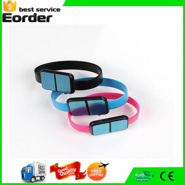 Colorful Bracelet Flat Style USB Portable Charging Data Cable For Mobile Phone