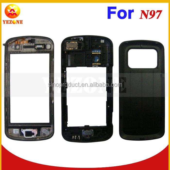 Full Housing Cover Case For Nokia N97 ,Complate Housing Cover For Nokia N97 Back Cover