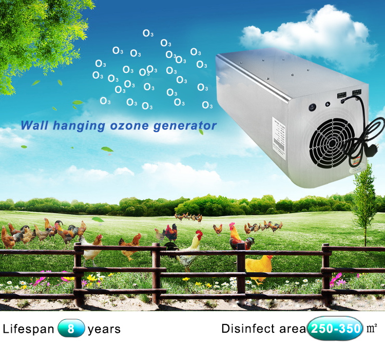 wall hanging air ozone generator smog filter