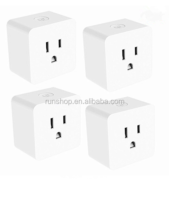Hyleton Mini Outlet with Energy Monitoring APP Remote Control Anywhere WiFi Smart <strong>Plug</strong>