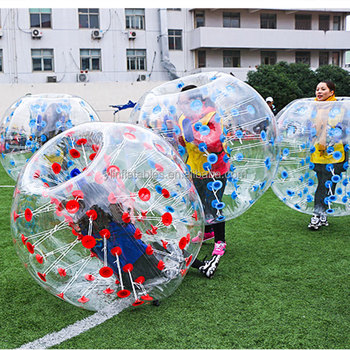 2018 TPU Human Buddy Bumper Balls Funny Inflatable Bubble Suit For Adult