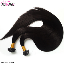5A 6A 7A 8A I Tip Hair Extensions Wholesale Keratin Hair Ali Magic Factory Outlet