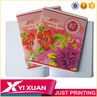 high quality custom composition notebook school supply from china factory