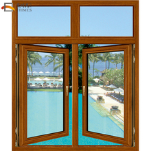 Modern aluminum window and door foshan low-e residential windows