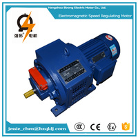 YCT series variable speed industrial sewing machine clutch electric motors