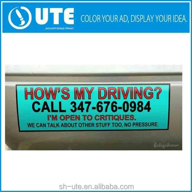Custom Car Bumper Stickers For Facebook Promotion Buy Custom - Custom car bumper stickers