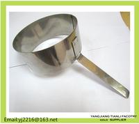 Stainless steel long handle Mousse Ring Cake Mold egg baking ring