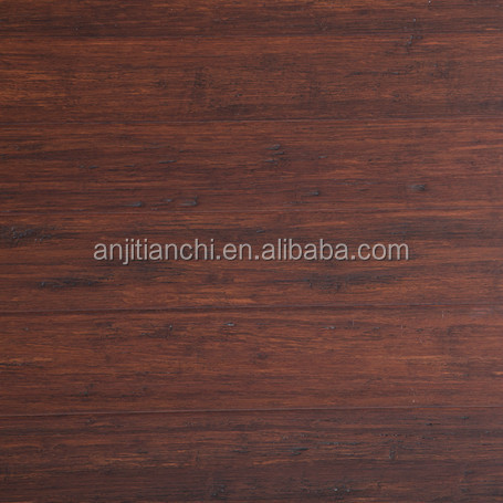 Antiqued waterproof Brushed Indoor Strand Woven Indoor Bamboo Flooring