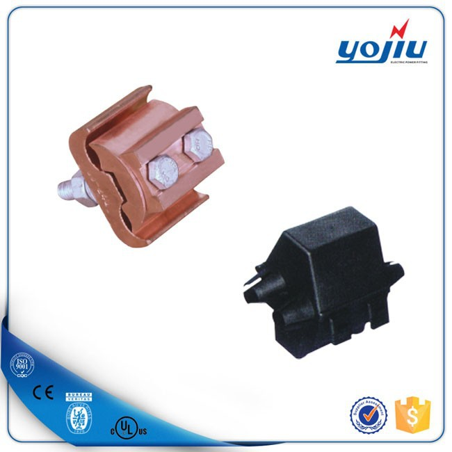 Manufactured JBT(Y) Electric Copper Parallel Groove Clamp with bolts/Copper PG Clamp with insulated cover/wire clamp