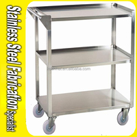 Keenhai Custom Heavy Duty China Mobile Stainless Steel Cart For Kitchen