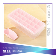 Ice Cube Trays,No-Spill, Easy-Twist Release, Quick-Filling Water Channel