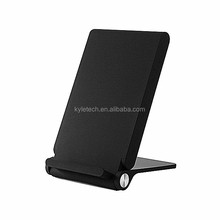 Wholesale universal cell phone stand powermat wireless charger for iPhone and samsung, for iphone qi wireless charger pad