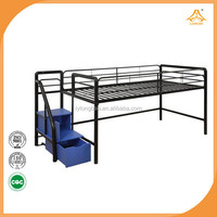 school furniture labor bed metal trundle bed iron frame made in china