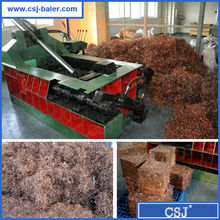 Hot sales waste iron compactor machine used scrap metal baling press
