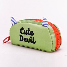 Languo NEW cute devil style high-capacity pencil bag pencil case for kids